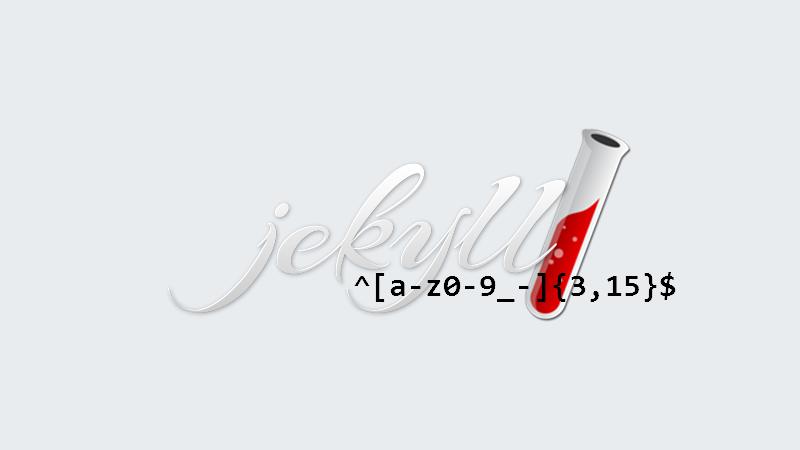 Filtrer les expressions régulières dans Jekyll